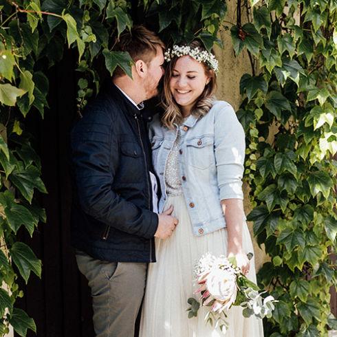 Boho Hochzeit im Standesamt Herrenberg