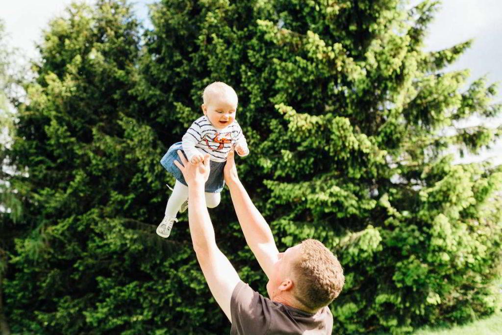 Familienfotograf Stuttgart Jana und Gregor Vater