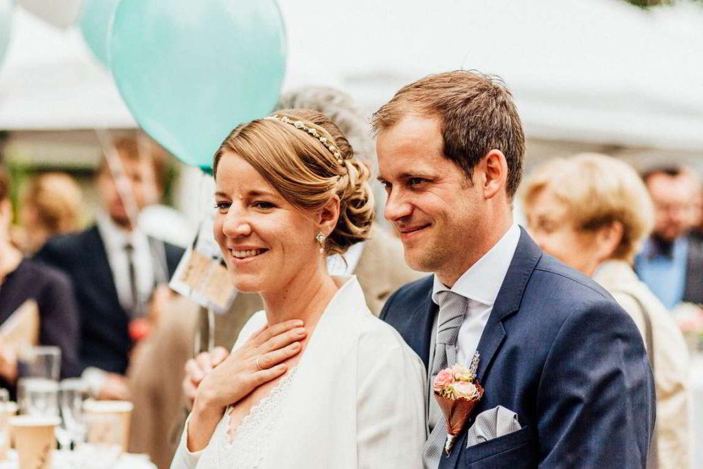Hochzeitsfotografie Stuttgart Anne und Markus Sektempfang