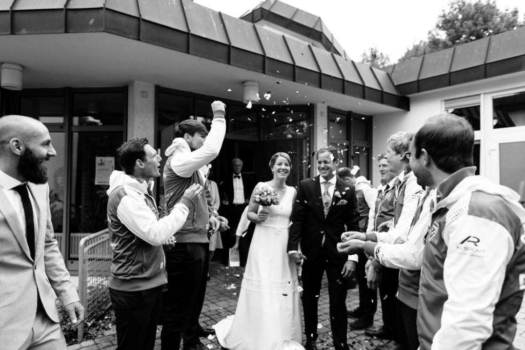 Hochzeitsfotografie Stuttgart Anne und Markus Trauung Auszug