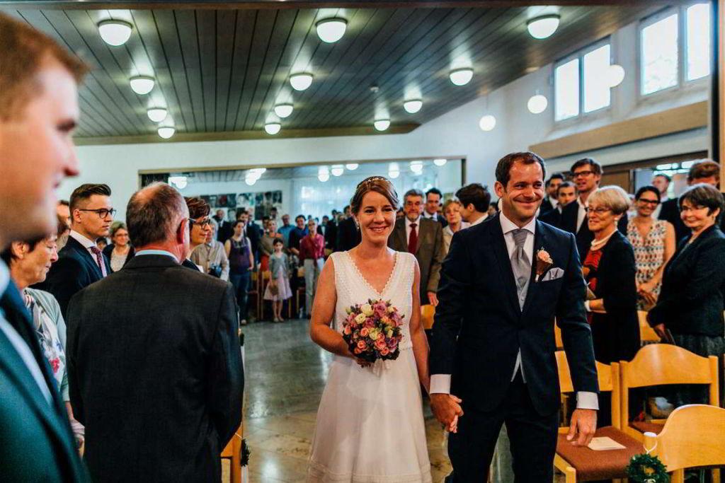 Hochzeitsfotografie Stuttgart Anne und Markus Trauung Einzug