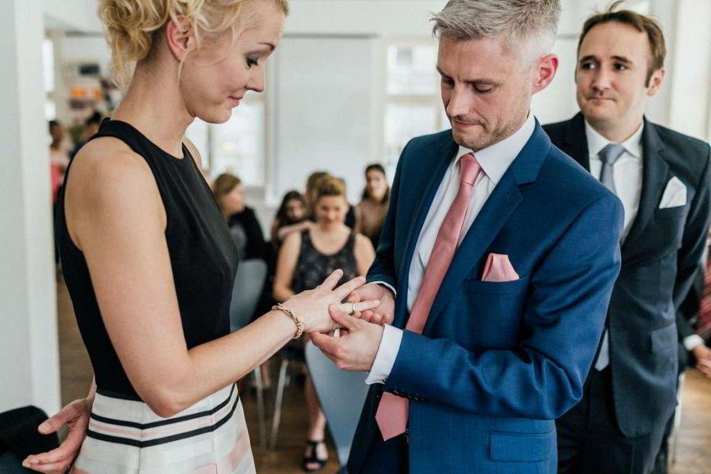 Hochzeitsfotograf Stuttgart Clarissa und Michael Eheringe