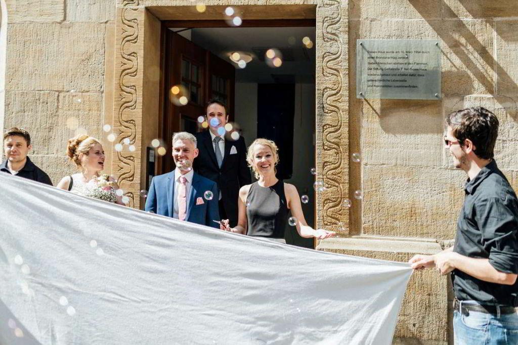 Hochzeitsfotograf Stuttgart Clarissa und Michael Empfang
