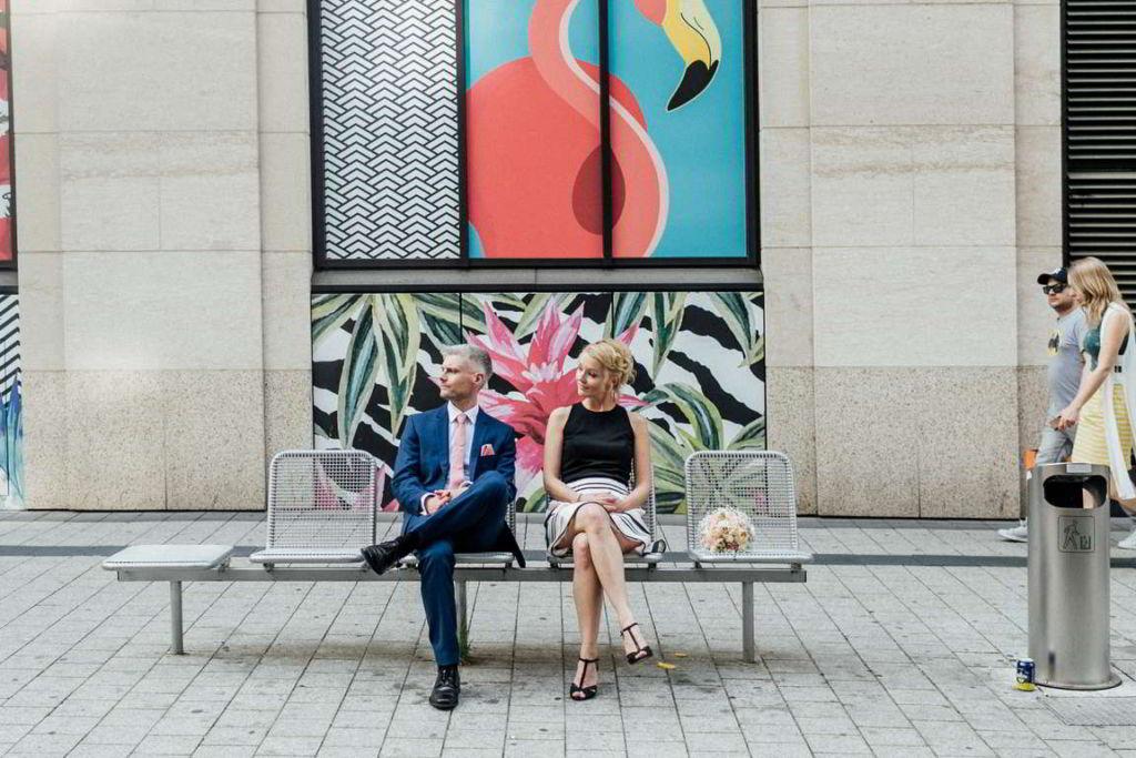 Hochzeitsfotograf Stuttgart Clarissa und Michael Paarshoot Gerberviertel
