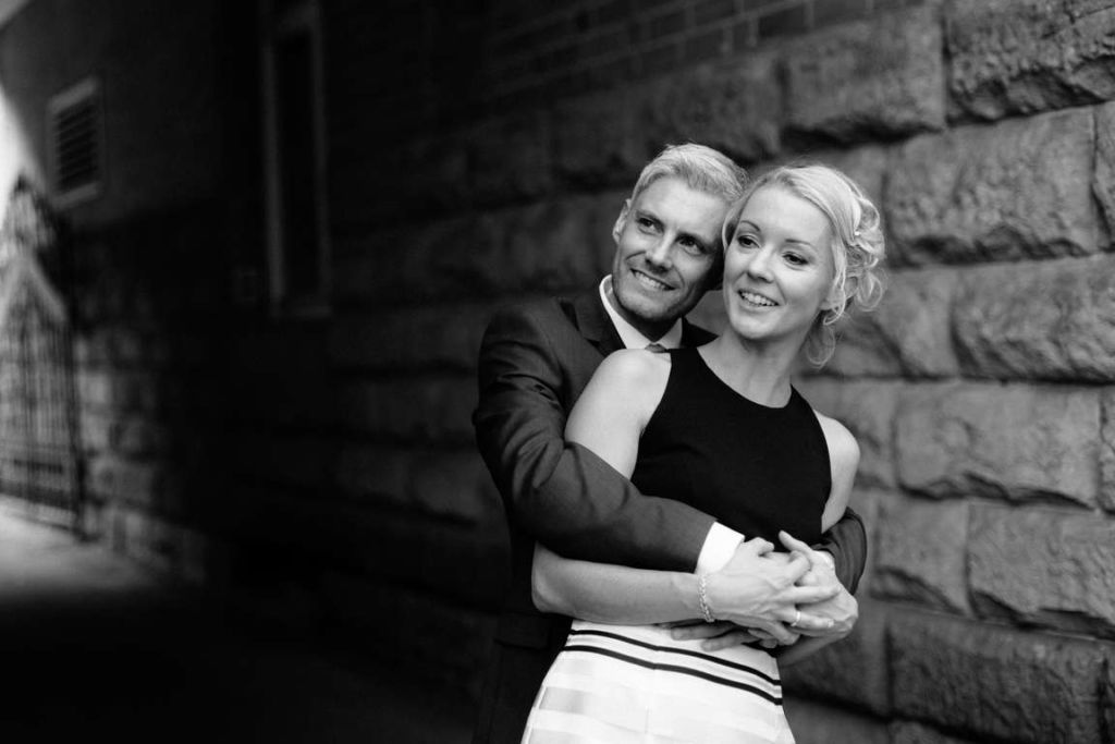 Hochzeitsfotograf Stuttgart Clarissa und Michael Paarshooting Umarmung