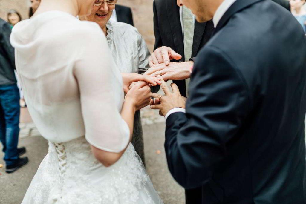 Blog Cornelia und Andreas Gratulation Eheringe