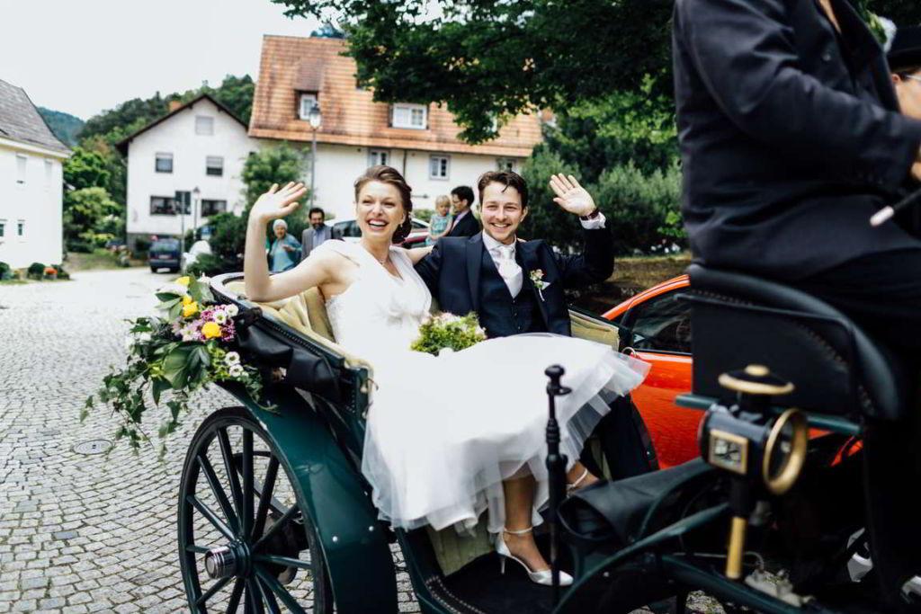 Blog Cornelia und Andreas Pferdekutsche