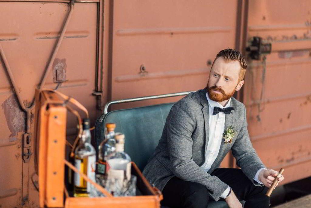 Hochzeitsbilder Stuttgart Eisenbahndepot Whiskeybar