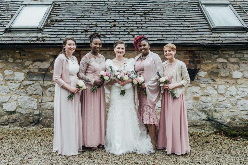 Hochzeitsfotograf Stuttgart Auslandshochzeit bridemaids