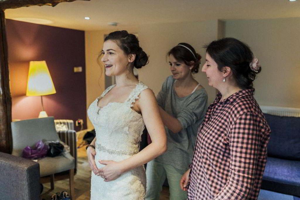 Hochzeitsfotograf Stuttgart Auslandshochzeit getting ready