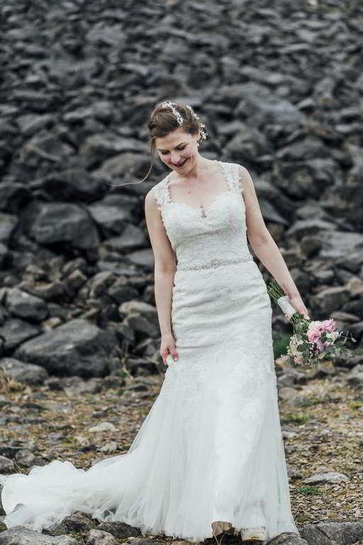 Hochzeitsfotograf Stuttgart Auslandshochzeit Brautkleid