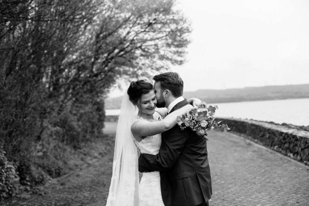Hochzeitsfotograf Stuttgart Auslandshochzeit Paarshoot Schwarzweiss