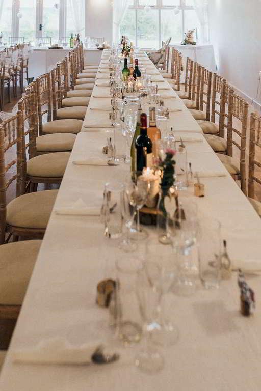 Hochzeitsfotograf Stuttgart Auslandshochzeit Tischdeko