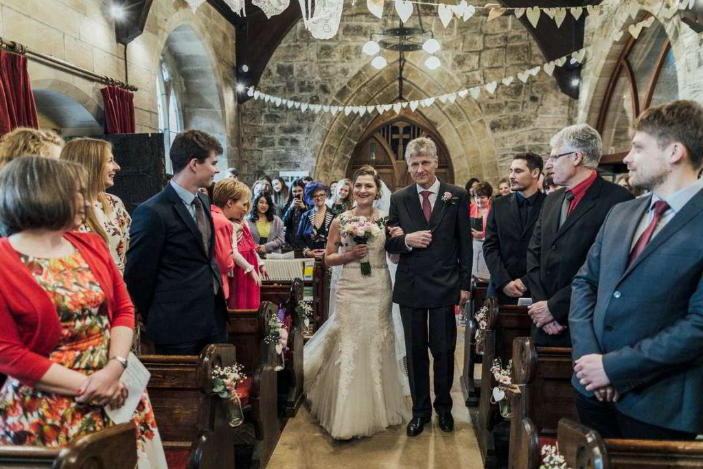 Hochzeitsfotograf Stuttgart Auslandshochzeit Zeremonie Einzug