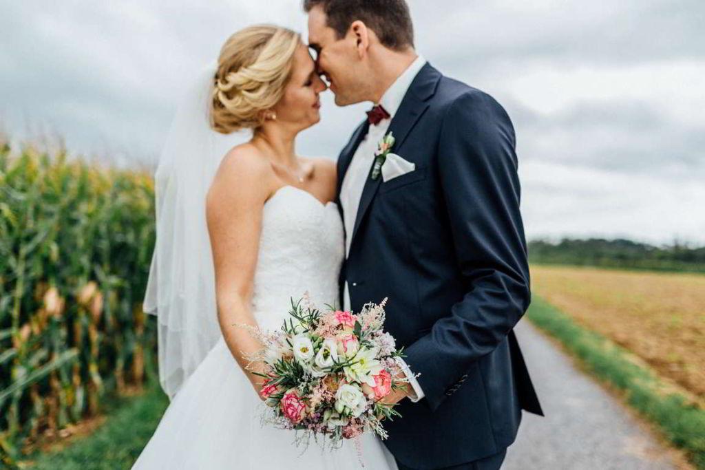 Hochzeitsfotograf Eberdingen Jana und Matthias First Look Paarshoot