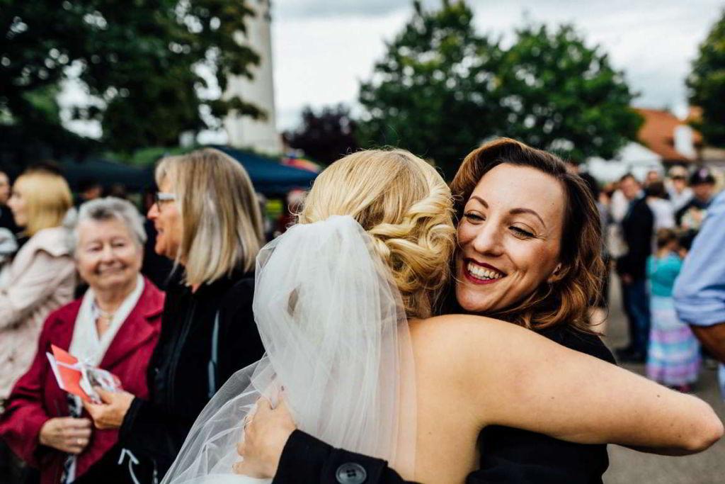 Hochzeitsfotograf Stuttgart Jana und Matthias Gratulation