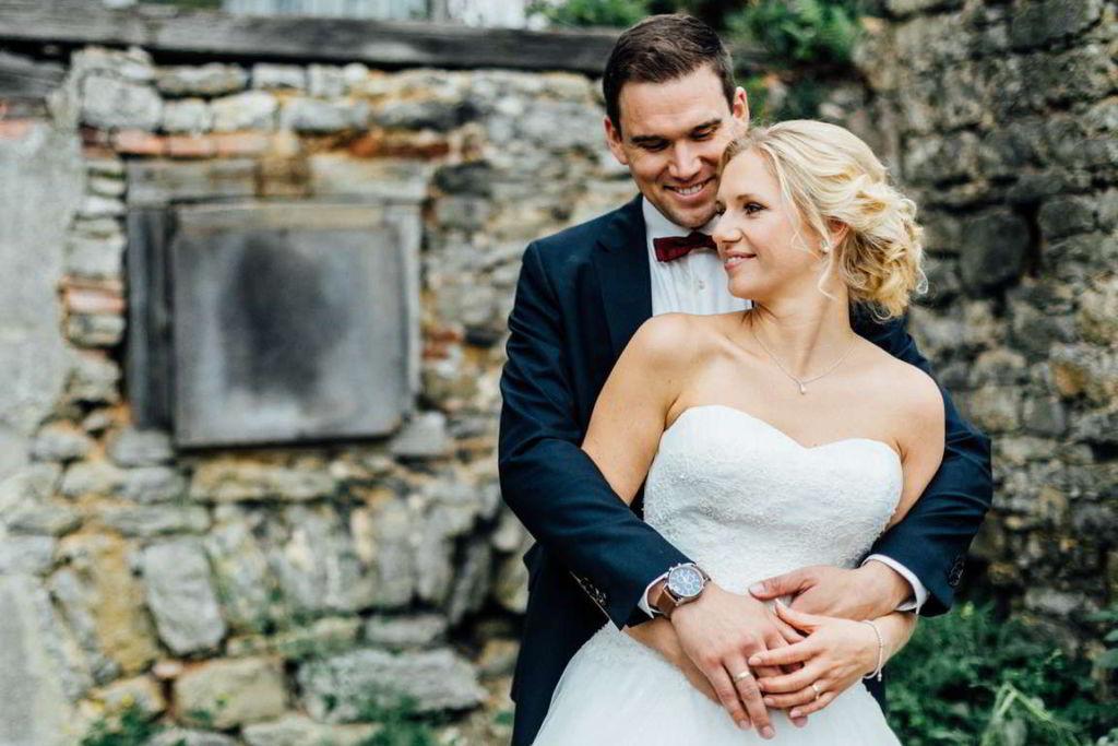 Hochzeitsfotograf Eberdingen Jana und Matthias Paarshoot Sunset