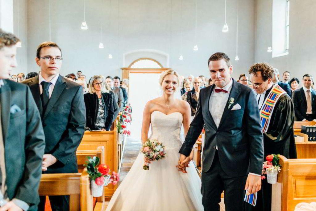 Hochzeitsfotograf Eberdingen Jana und Matthias Trauung Brautpaar