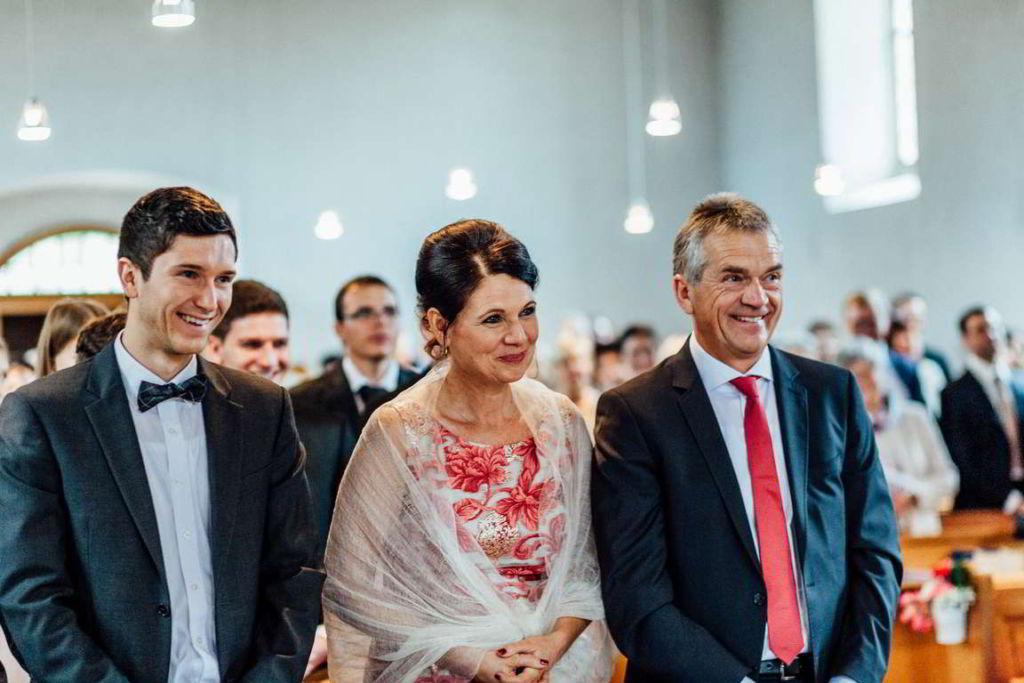 Hochzeitsfotograf Eberdingen Jana und Matthias Trauung Eltern