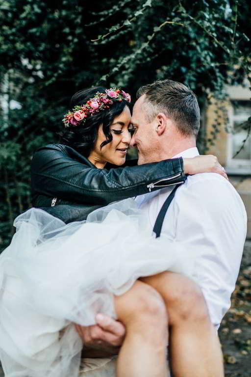 Urban Wedding Jasmin und Marco Beine