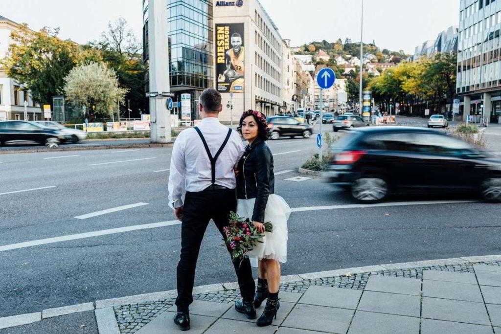Urban Wedding Jasmin und Marco Charlottenplatz