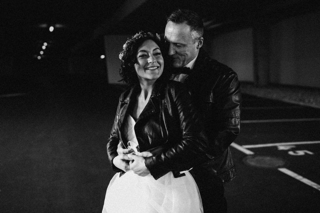 Urban Wedding Jasmin und Marco Tiefgarage