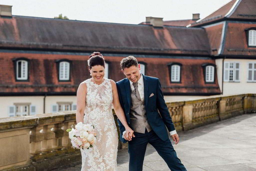 Hochzeitsfotos Melanie und Marc Paarshoot Bewegung