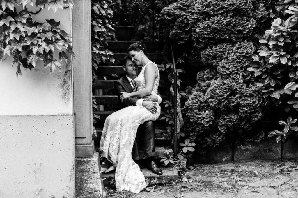 Hochzeitsfotos Melanie und Marc Paarshoot Park