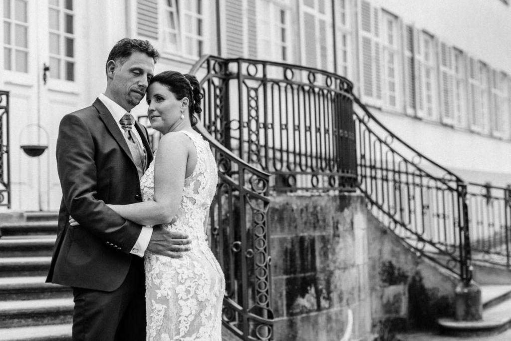 Hochzeitsfotos Melanie und Marc Paarshoot Treppe