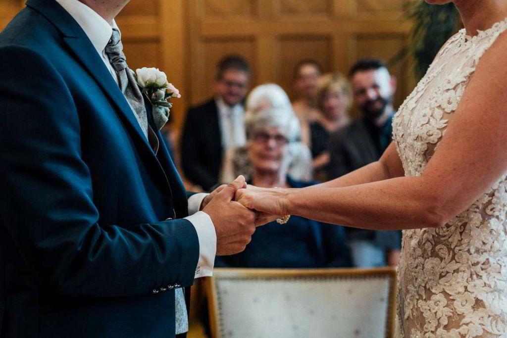 Hochzeitsfotos Melanie und Marc Standesamt Eheversprechen