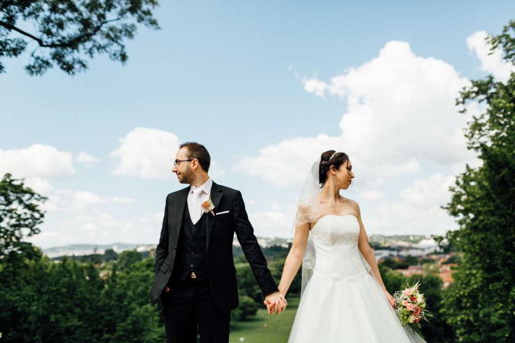 Hochzeitsfotograf Stuttgart Hochzeitsbilder Stuttgart Kursaal Aussicht