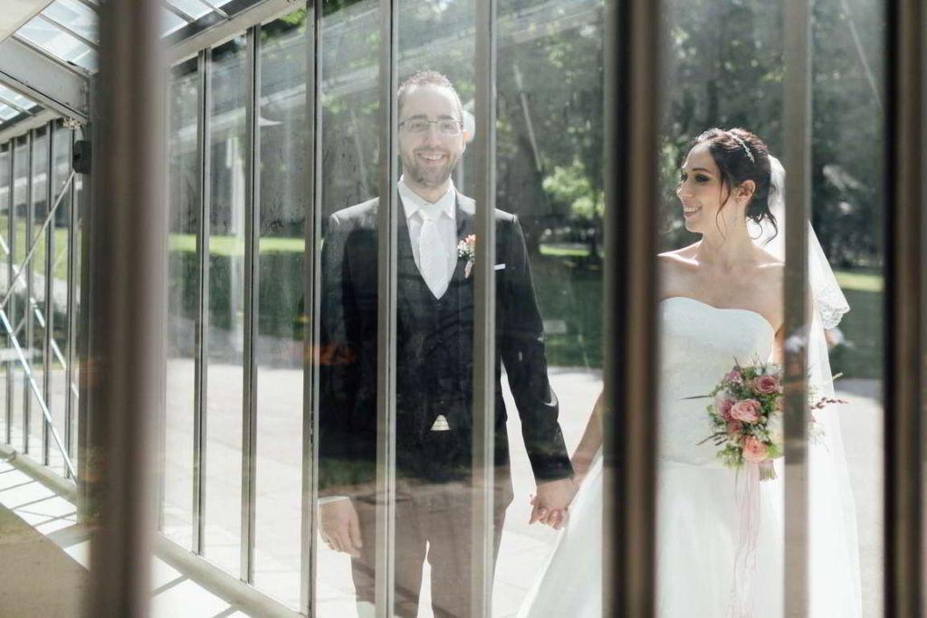 Hochzeitsfotograf Stuttgart Hochzeitsbilder Stuttgart Spiegelung