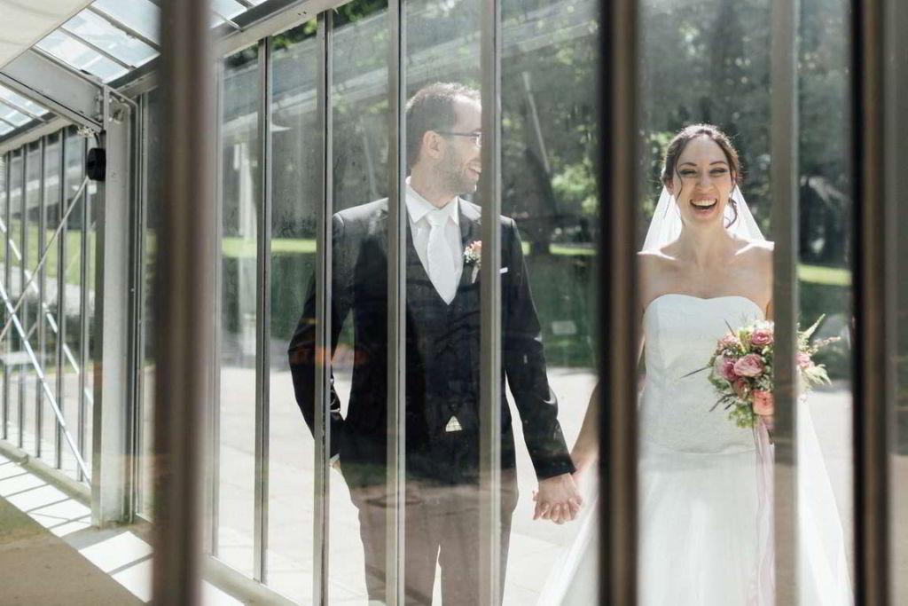 Hochzeitsfotograf Stuttgart Hochzeitsbilder Stuttgart Spiegelungen