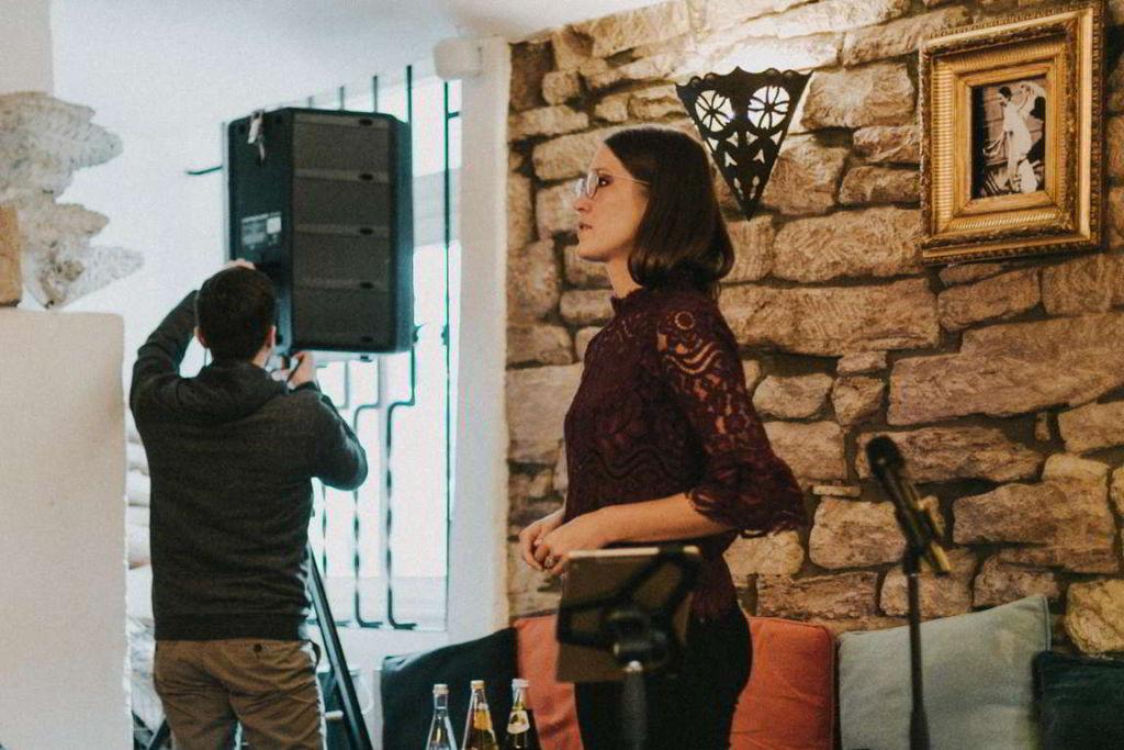 Hochzeitsmusik Sabrina Burkard Aufbau