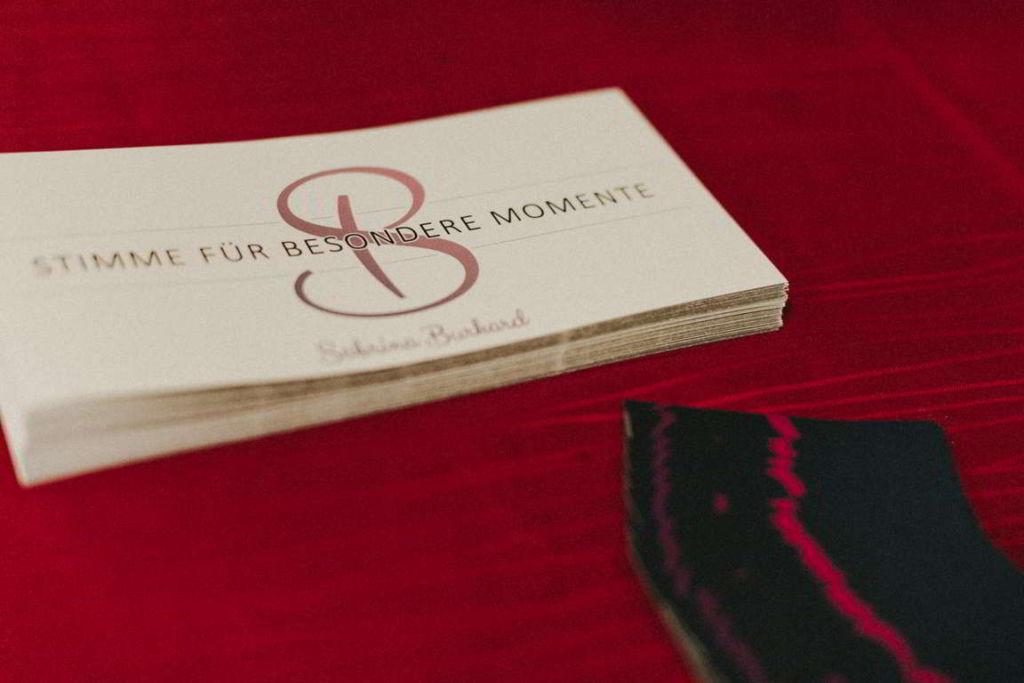 Hochzeitsmusik Sabrina Burkard Flyer