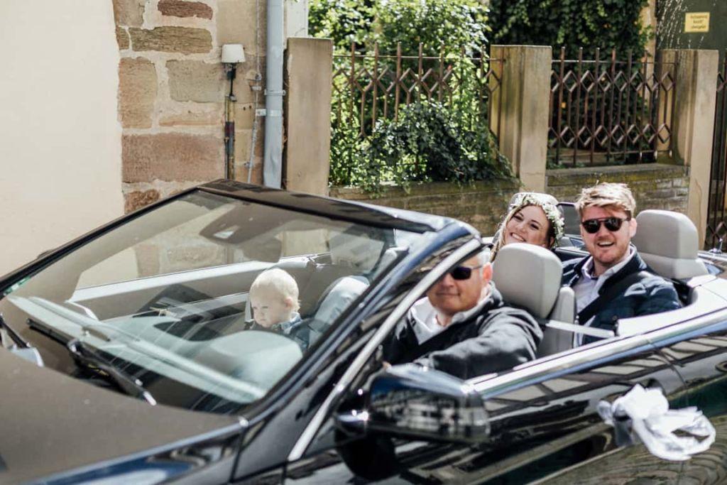 Hochzeitsfotograf Stuttgart Hochzeit Boho Standesamt Herrenberg Hochzeitsauto