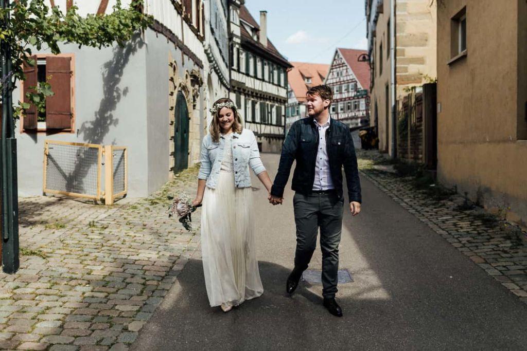 Hochzeitsfotograf Stuttgart Hochzeit Boho Standesamt Herrenberg