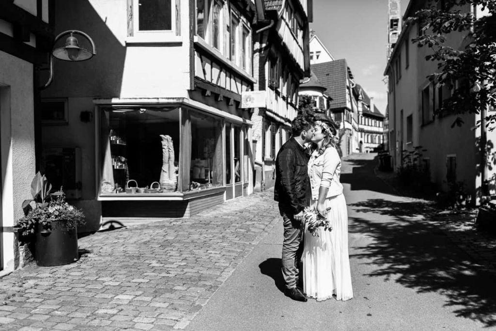 Hochzeitsfotograf Stuttgart Hochzeit Boho Standesamtliche Hochzeit