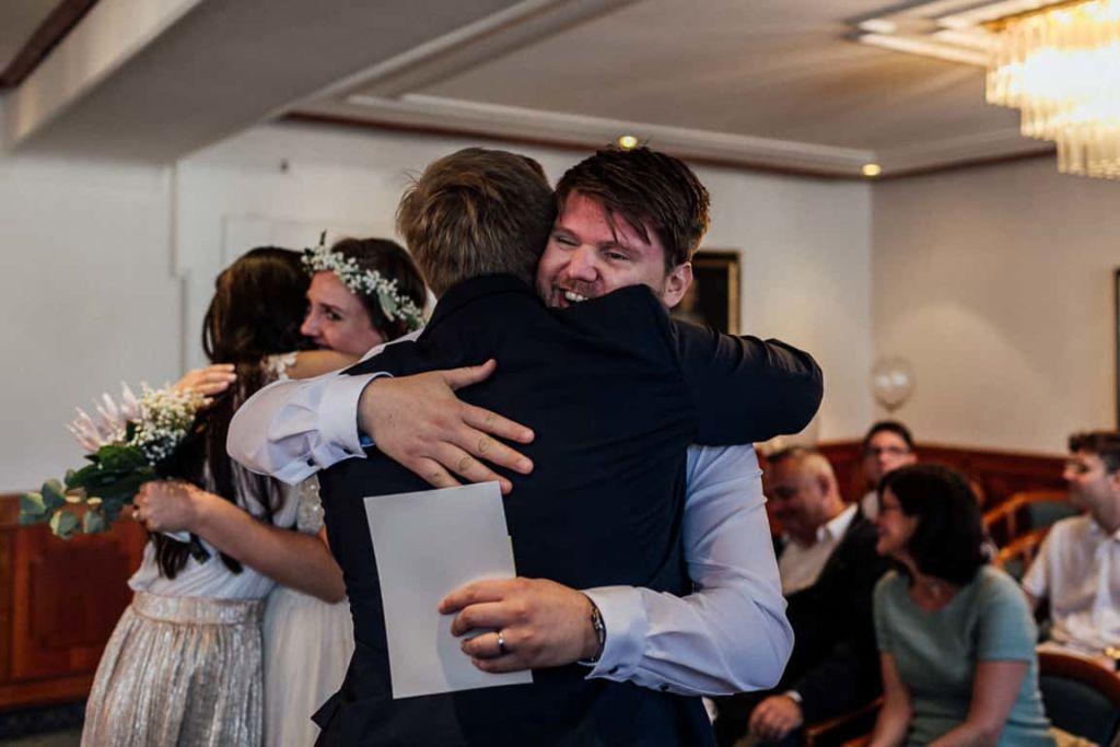 Hochzeitsfotograf Stuttgart Boho Hochzeit Gratulation Trauzeugen