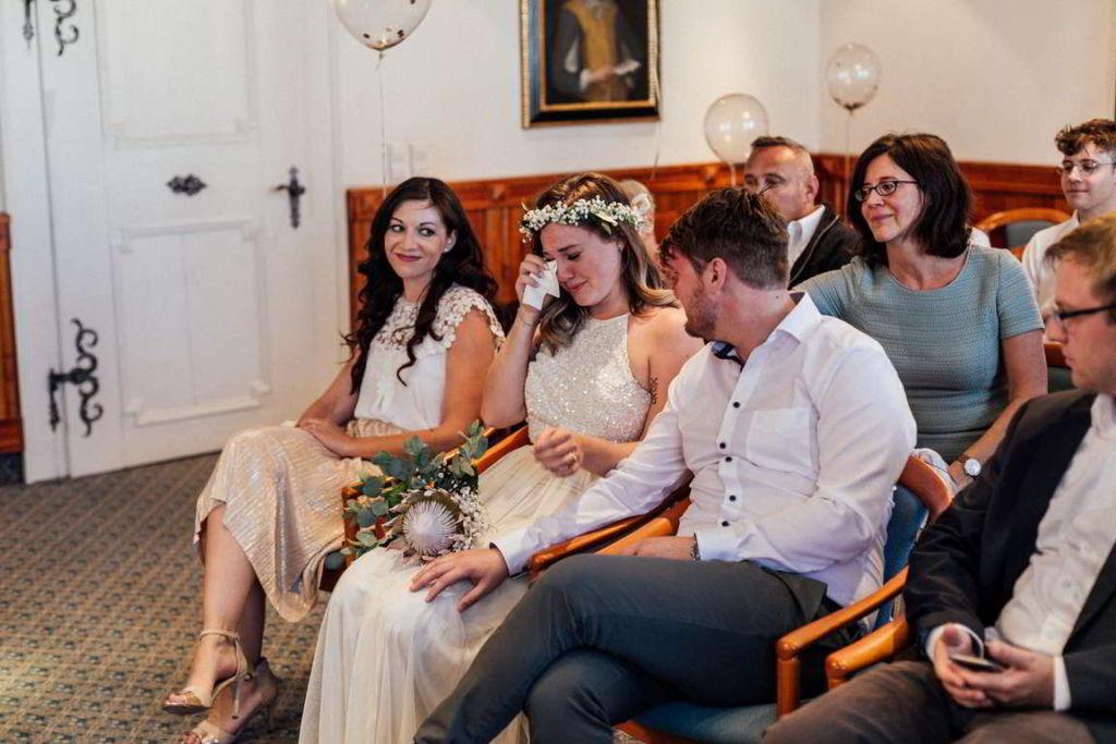 Hochzeitsfotograf Portfolio Madeleine und Flo Trauung