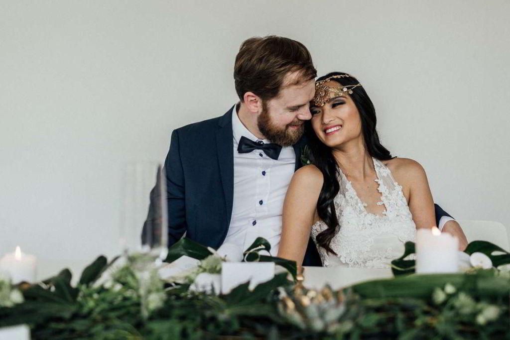 Hochzeitsfotograf Stuttgart Moderne hochzeitsbilder Brauttisch
