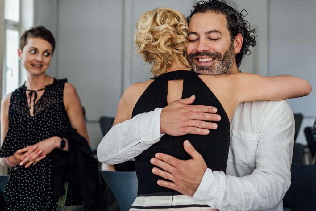 Hochzeitsfotograf Stuttgart Clarissa und Michael Gratulation