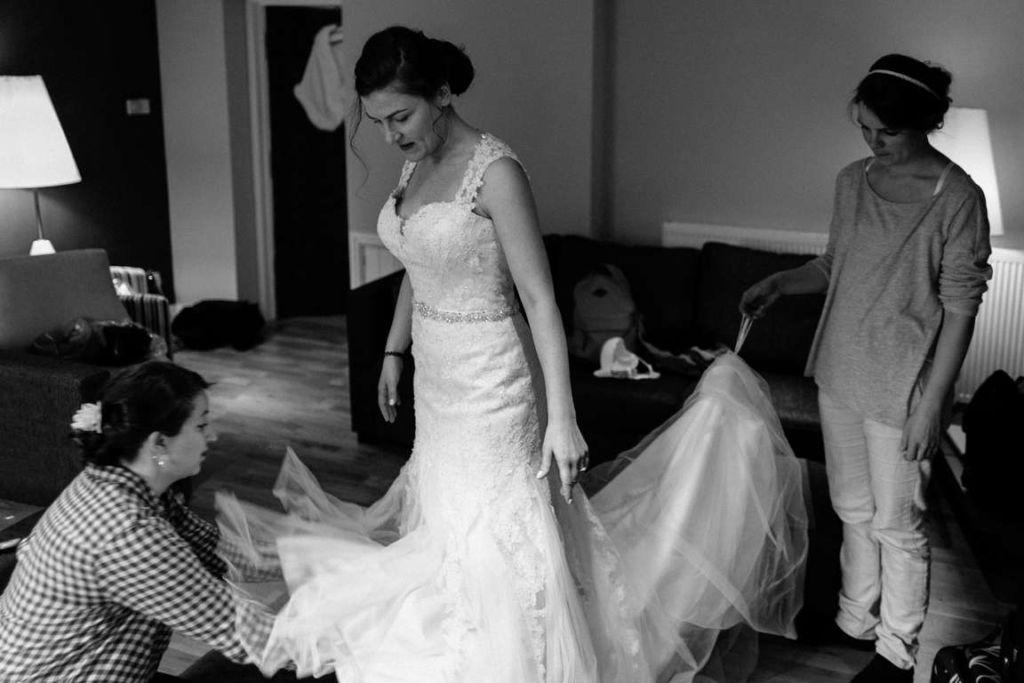Hochzeitsfotograf Stuttgart Helena und David getting ready