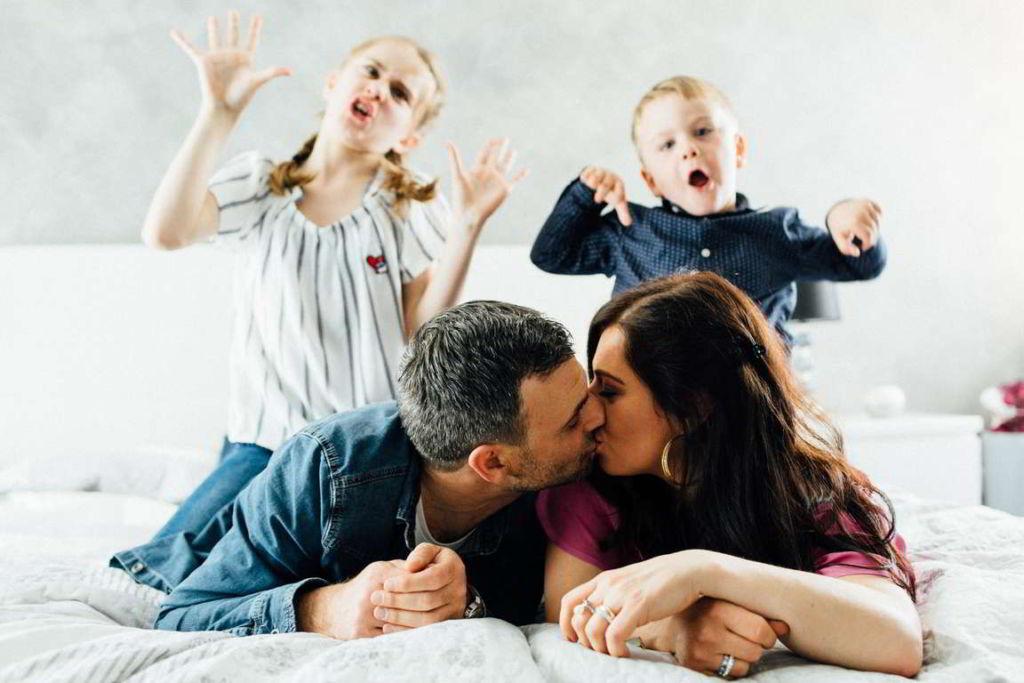 Familienfotograf Stuttgart Lucia und Guiseppe Familienbild