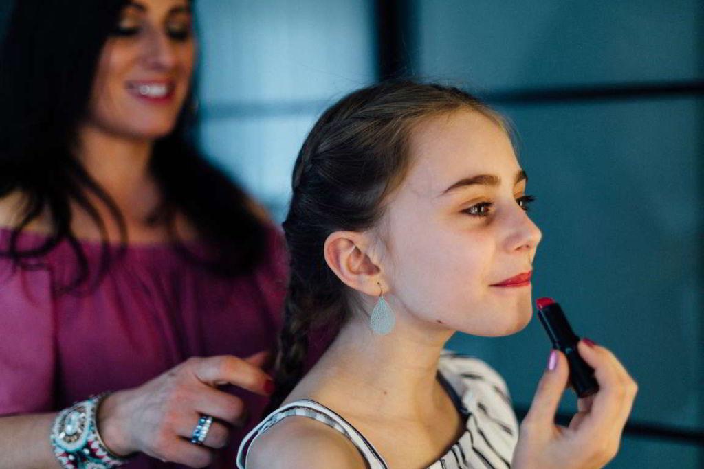 Familienfotograf Stuttgart Lucia und Guiseppe Make Up