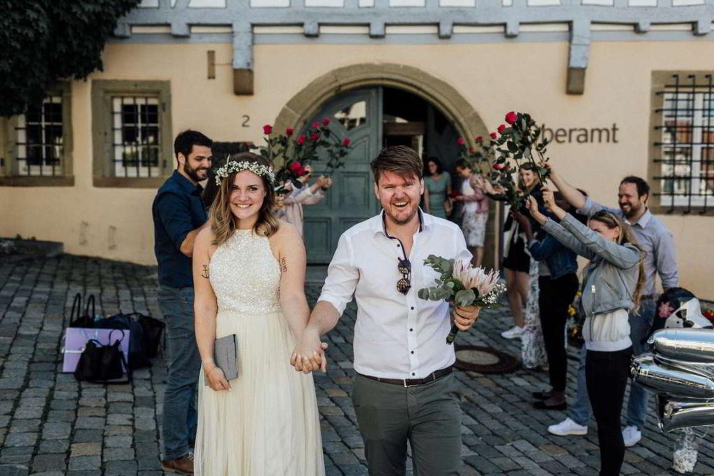 Hochzeitsfotograf Waiblingen Madeleine und Flo Gratulation