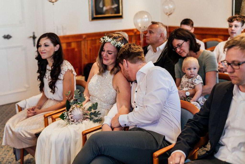 Hochzeitsfotograf Waiblingen Madeleine und Flo Trauung