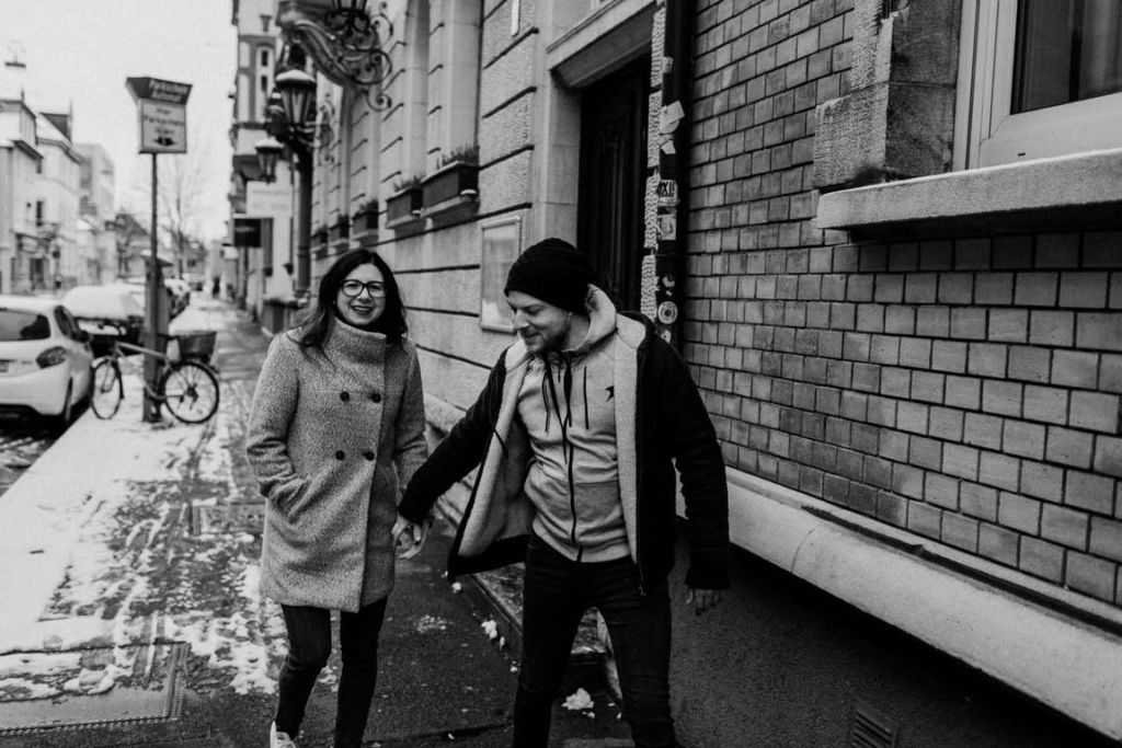 Paarbilder Kathi und Julian Stadtstrasse