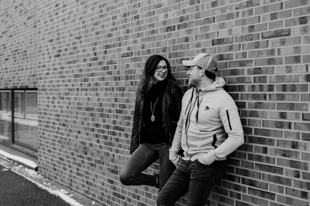 Paarbilder Kathi und Julian Wand