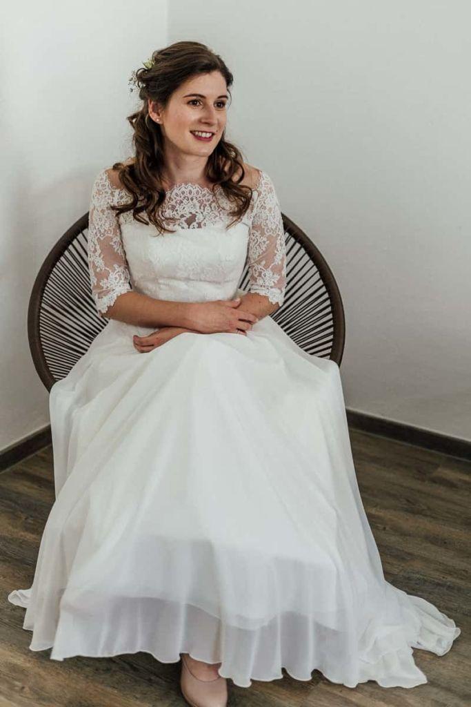 Hochzeitsfotograf Stuttgart Hochzeitslocation Kirchheim Teck Hochzeitskleid Braut